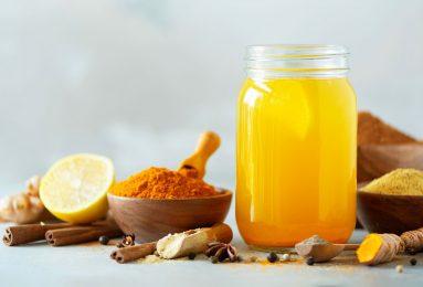 tè alla curcuma per rinforzare il sistema immunitario