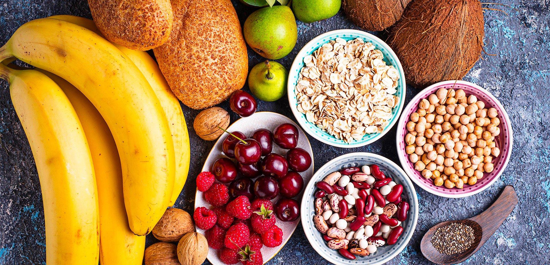 fibre alimentari cucina vegetariana vegana