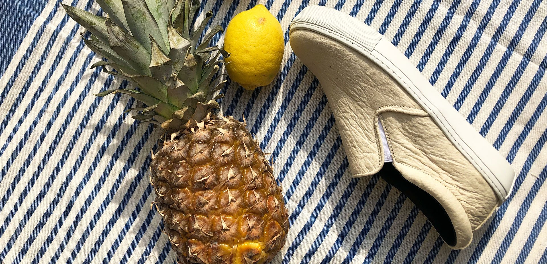 Scarpe vegane di ananas