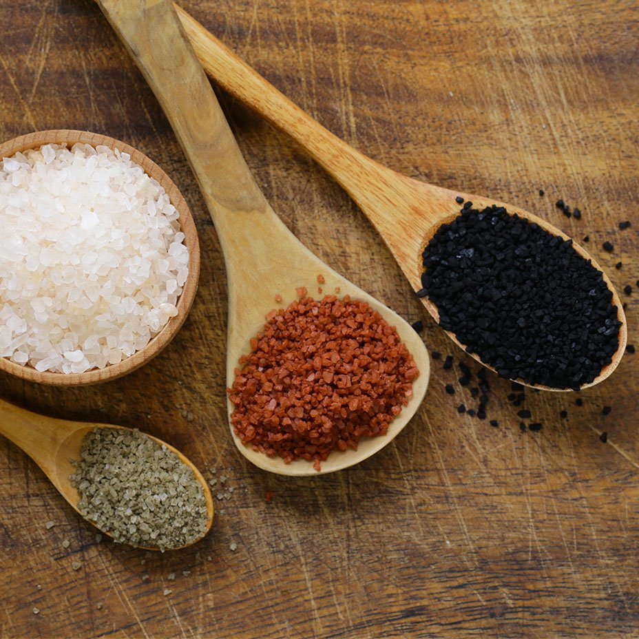 diversi tipi di sale