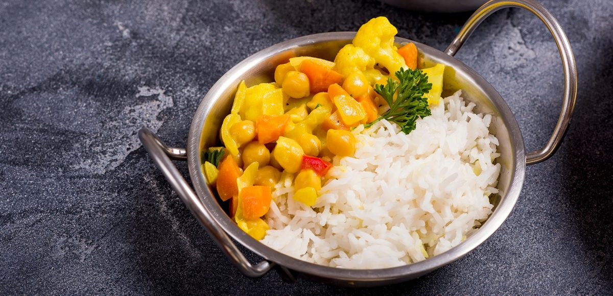 piatto indiano, diete vegetariane