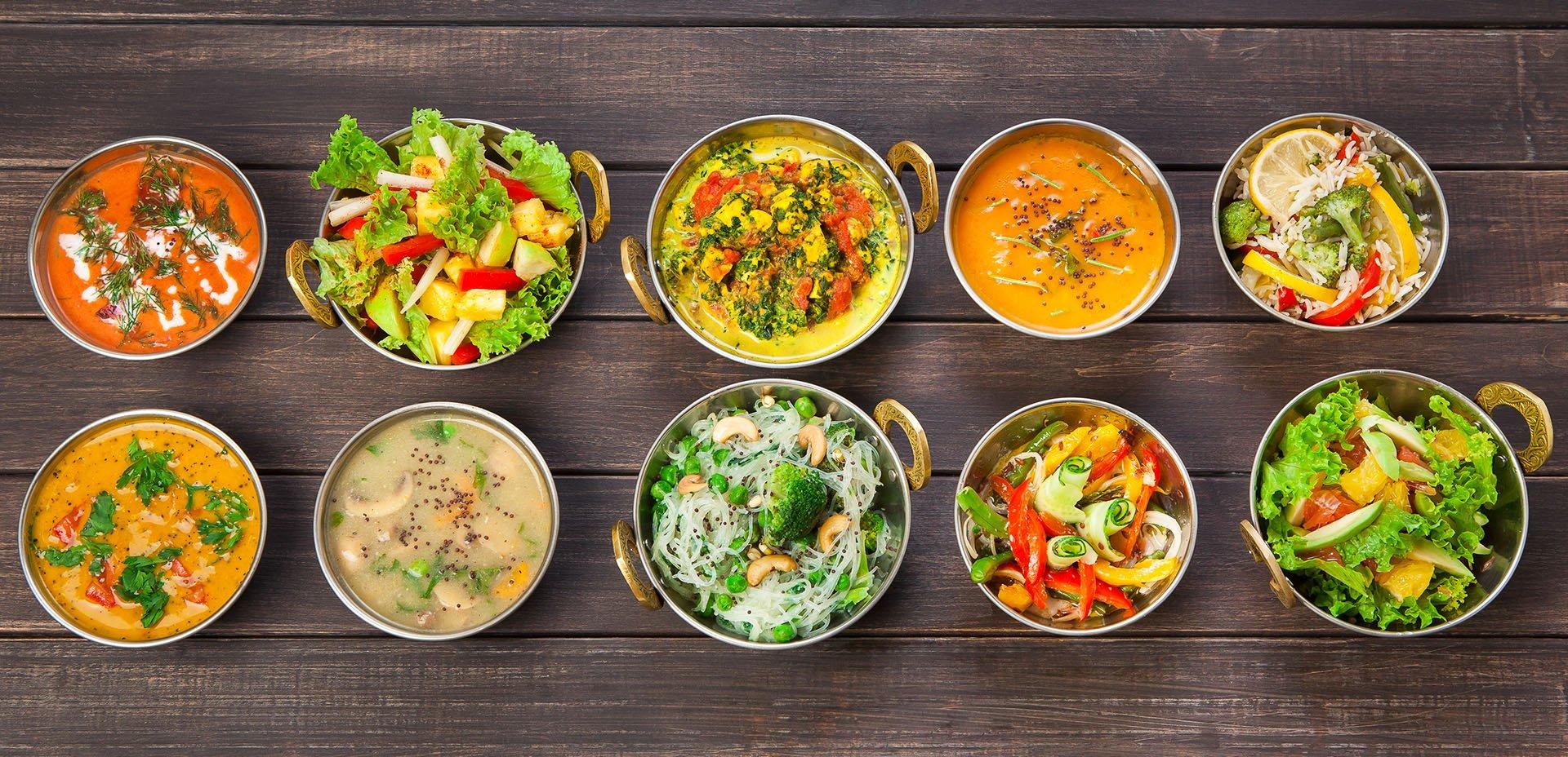 piatti vegani indiani