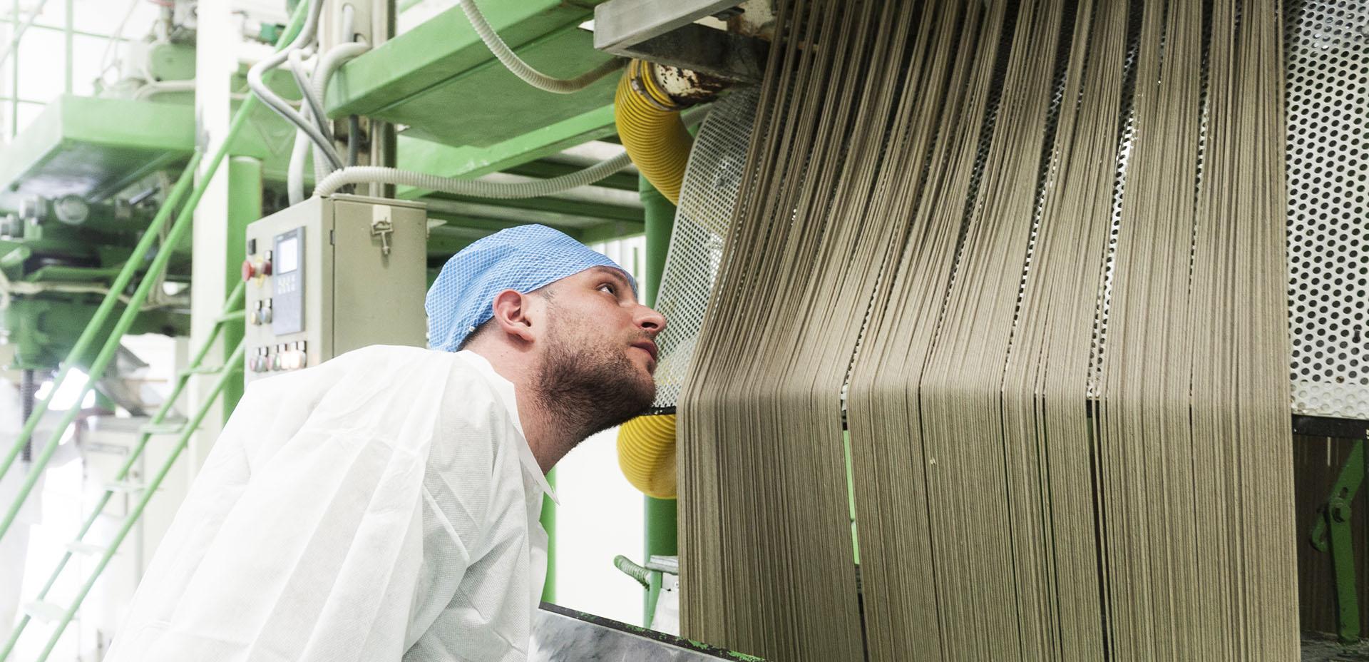 produzione di pasta Canapè