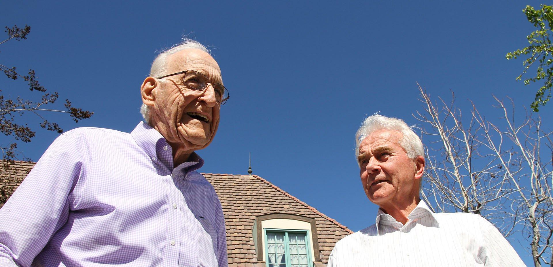 Ellsworth Wareham e Claus Leitzmann