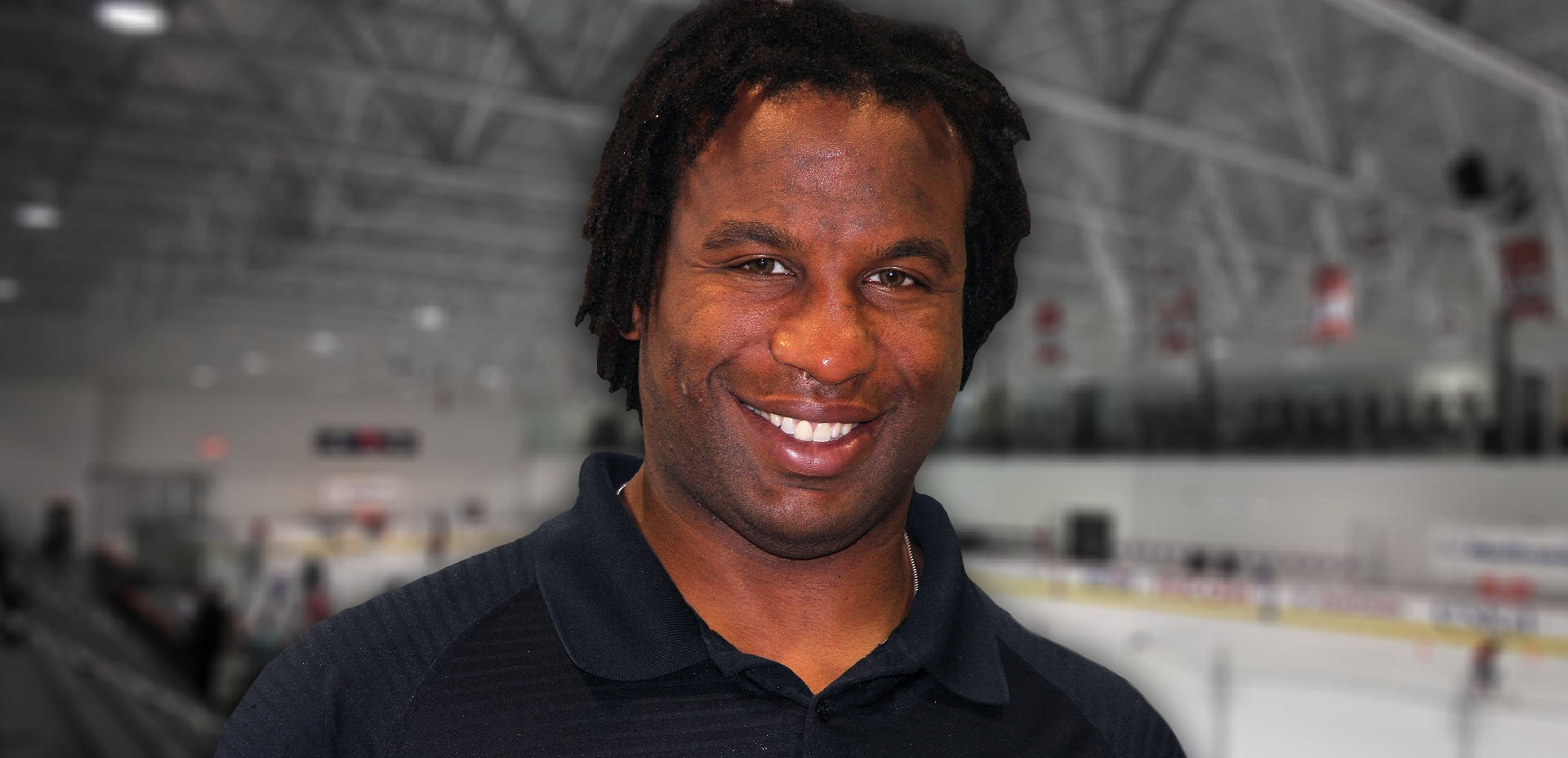 Georges Laraque, giocatore di hockey sul ghiaccio vegano