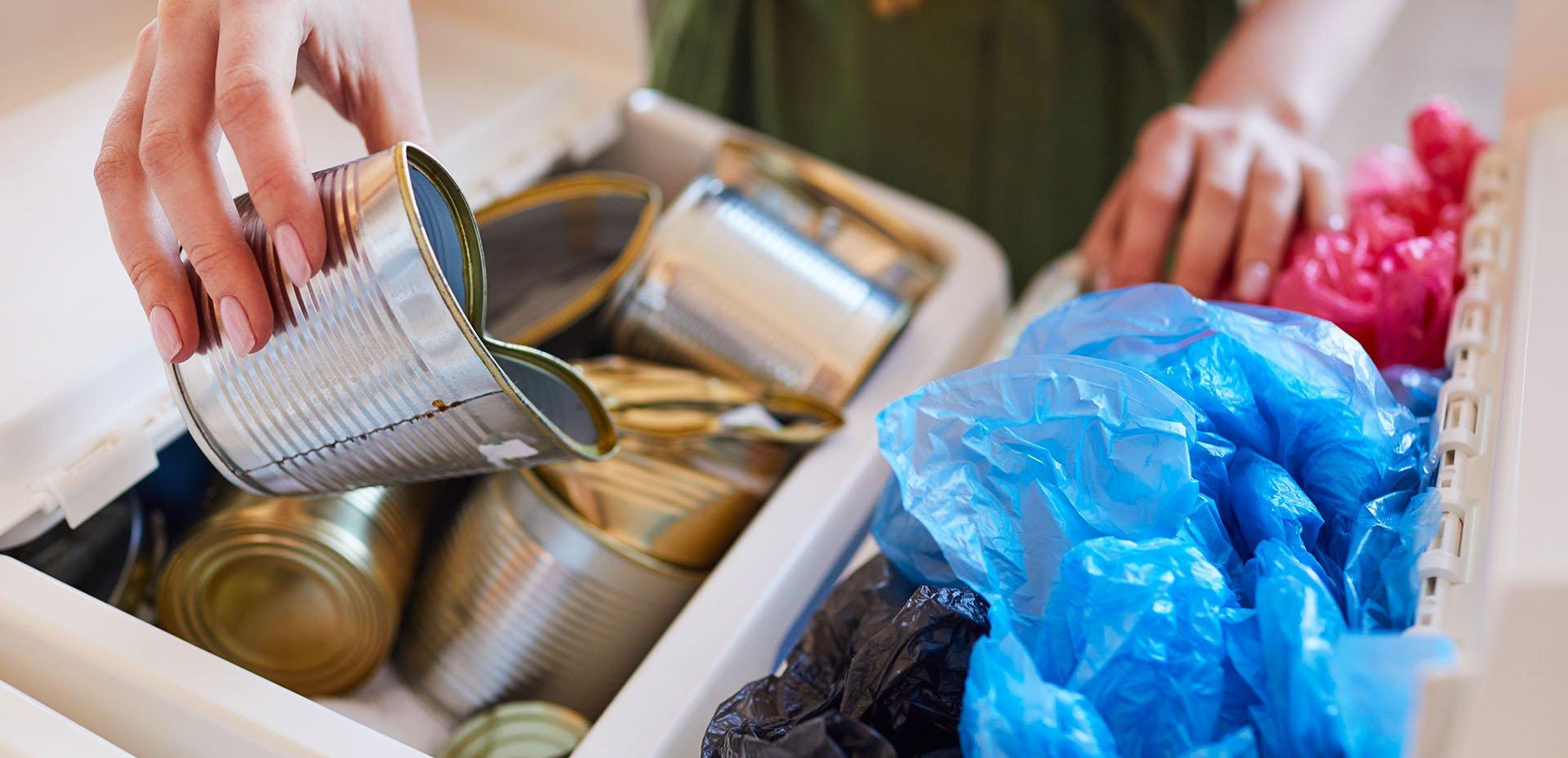 raccolta differenziata di rifiuti