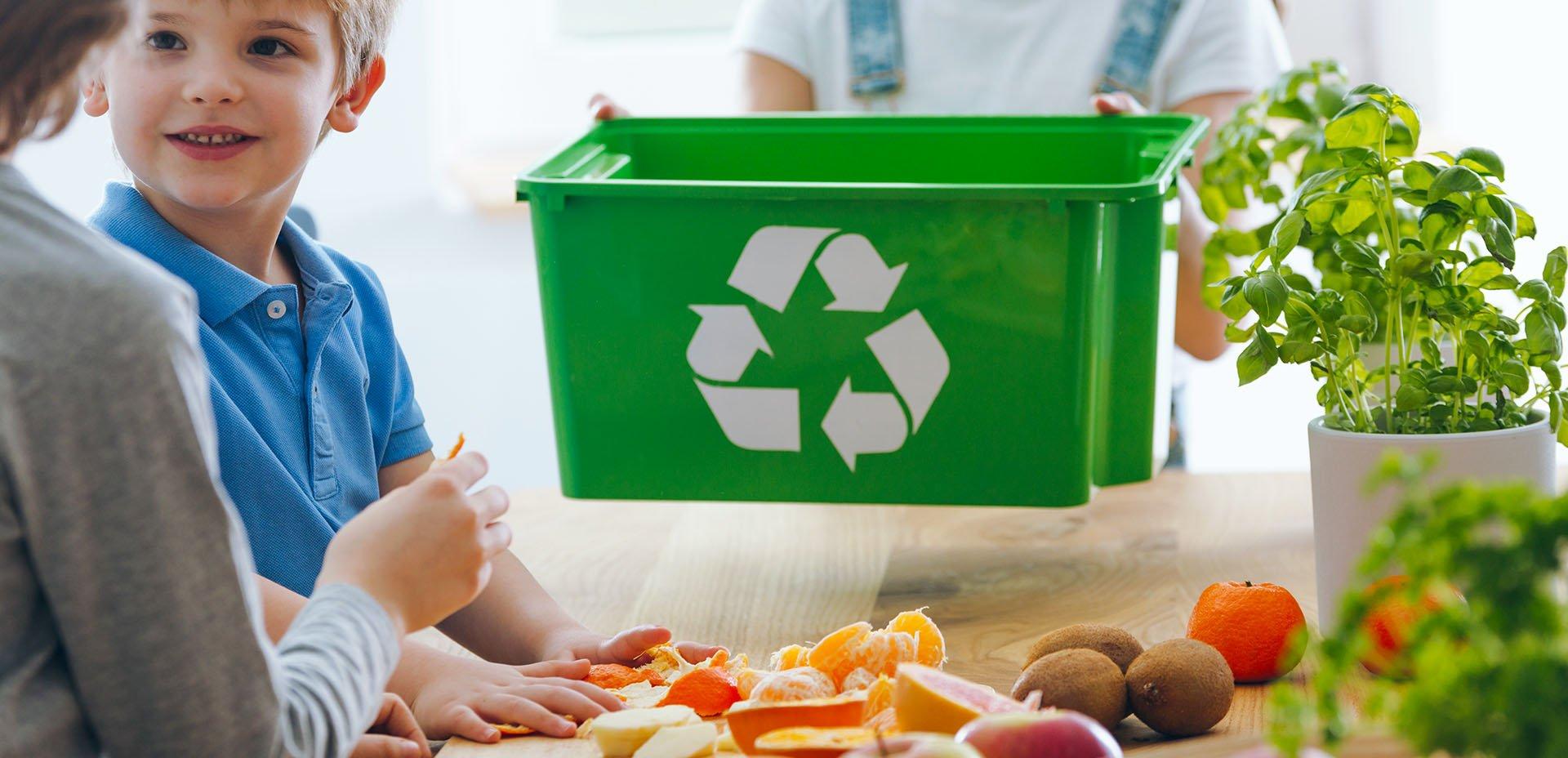 raccolta differenziata: biodegradabile