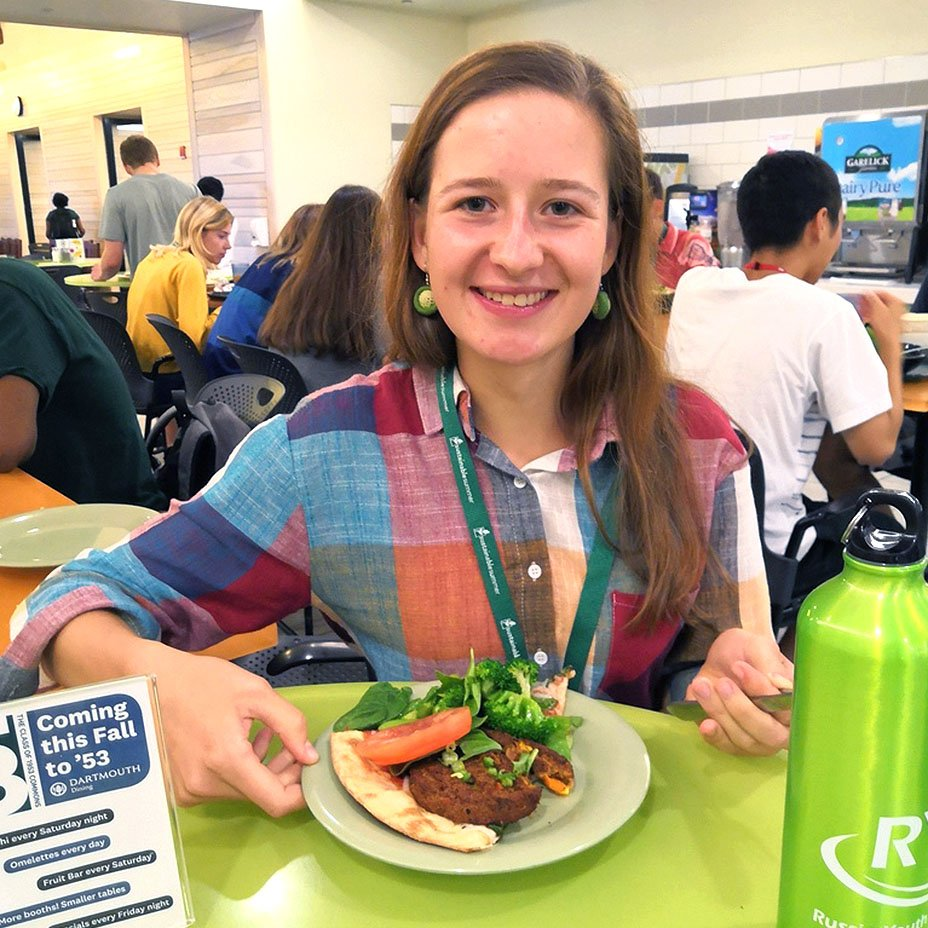Anna Ostapenko, dieta vegana