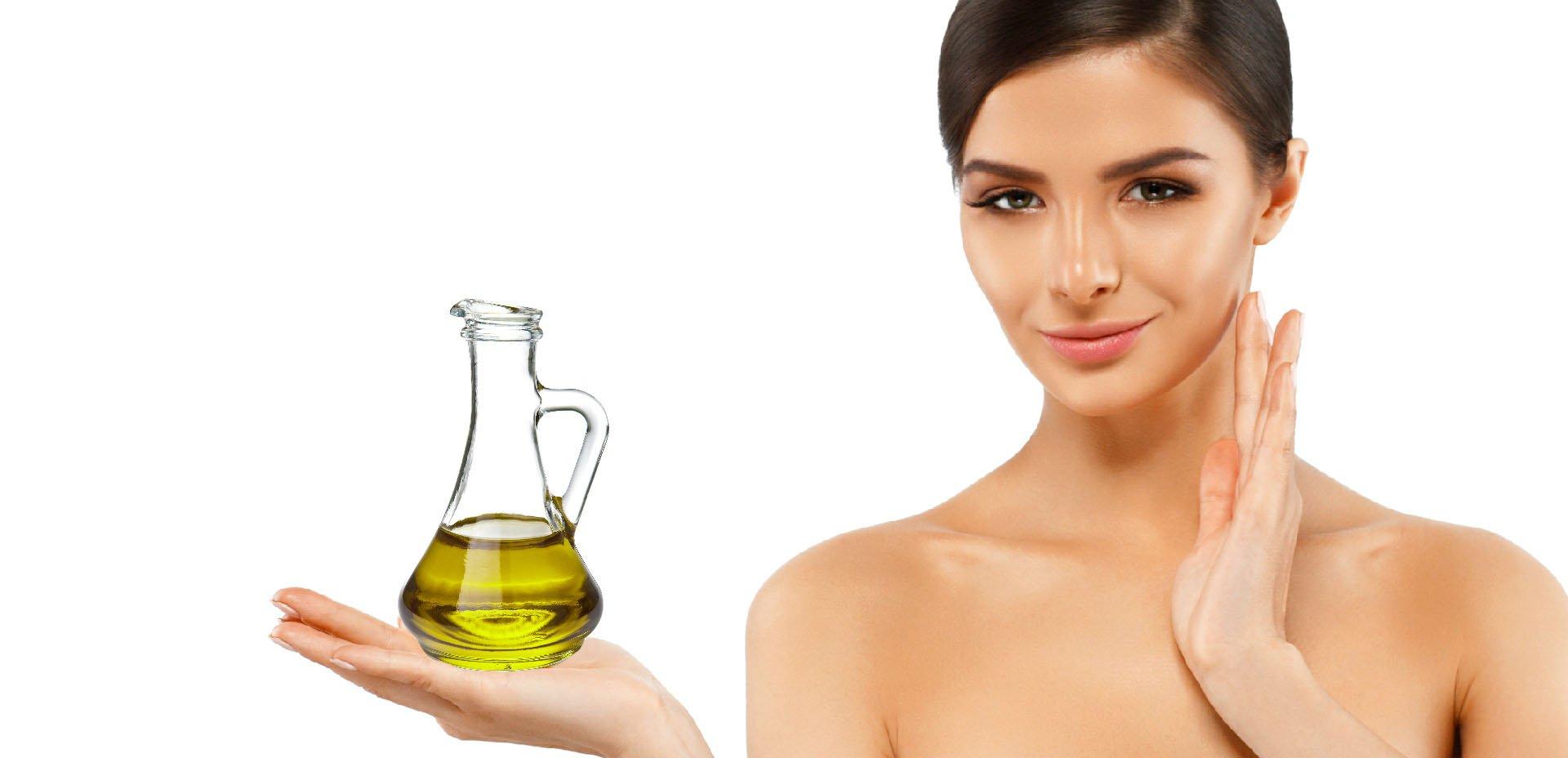 olio extravergine d'oliva per la cura del corpo