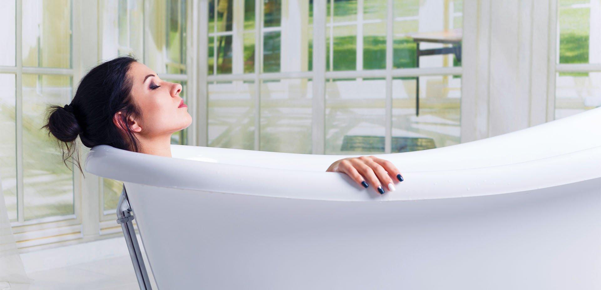 Come preparare dei sali da bagno drenanti