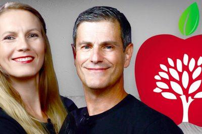 Massimo Leopardi e Julia Ovchinnikova Veggie Channel