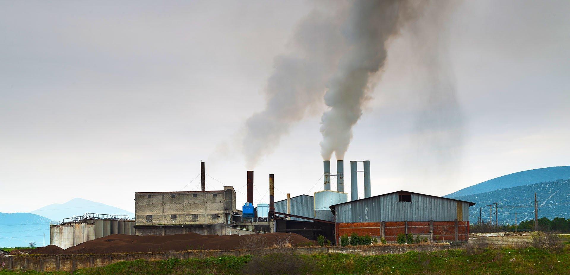 inquinamento dalle fabbriche