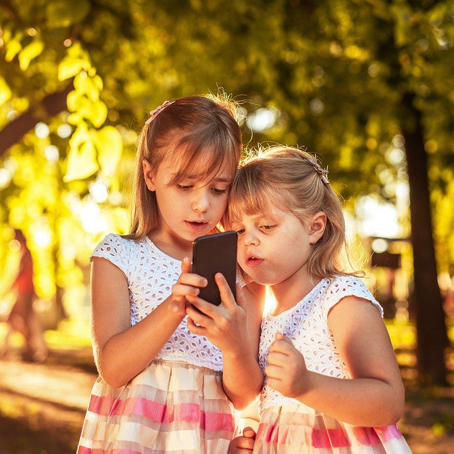 cellulari e bambini