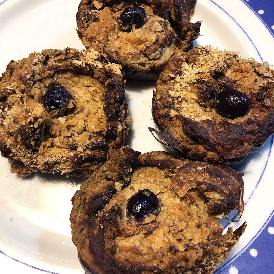 muffin salati di cavolo verde e patate