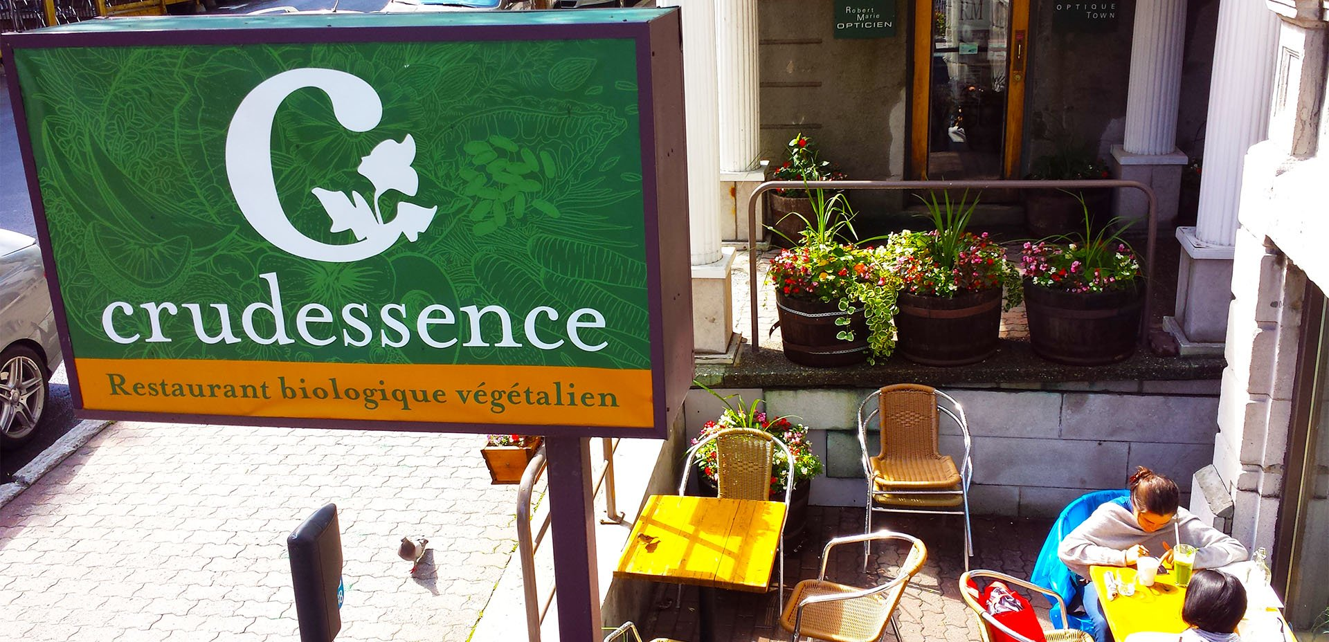 Ristorante crudista Crudessence a Montreal