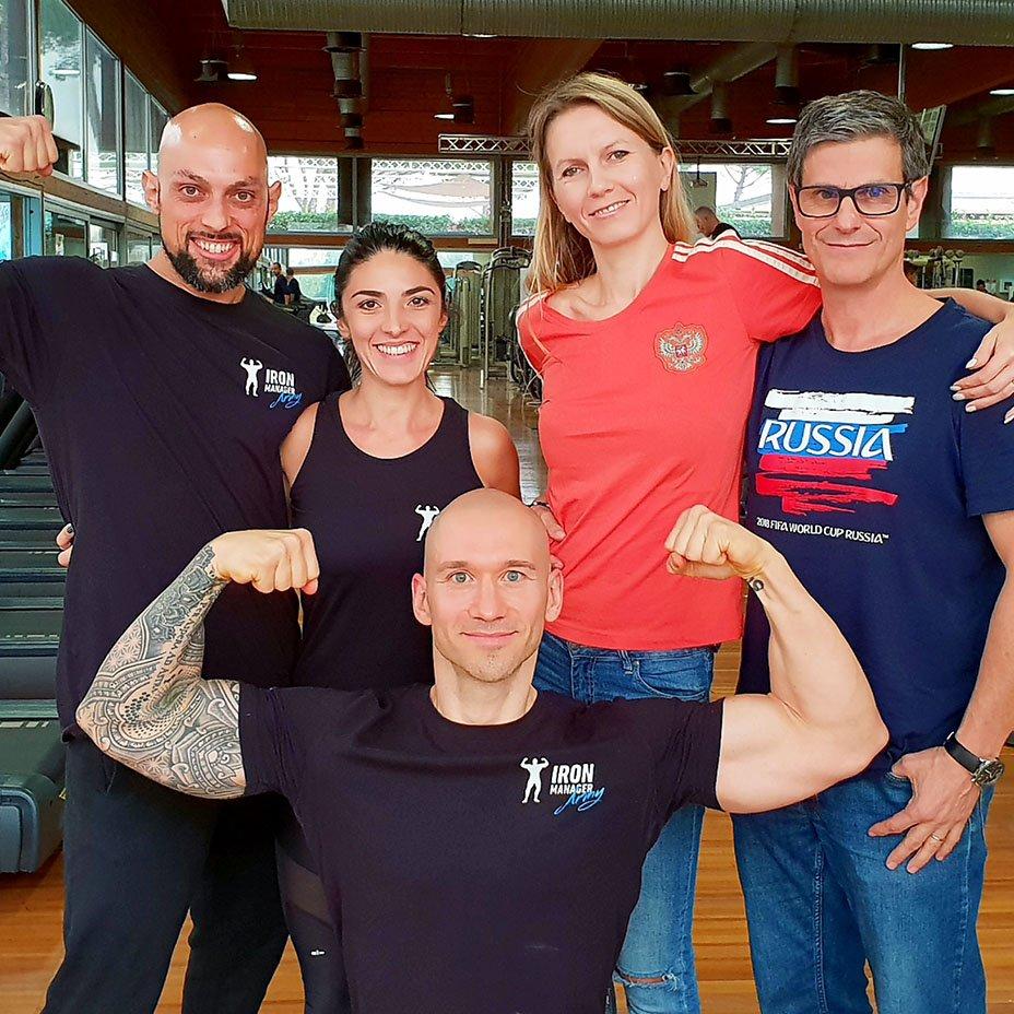 IronManager, i suoi atleti e Veggie Channel