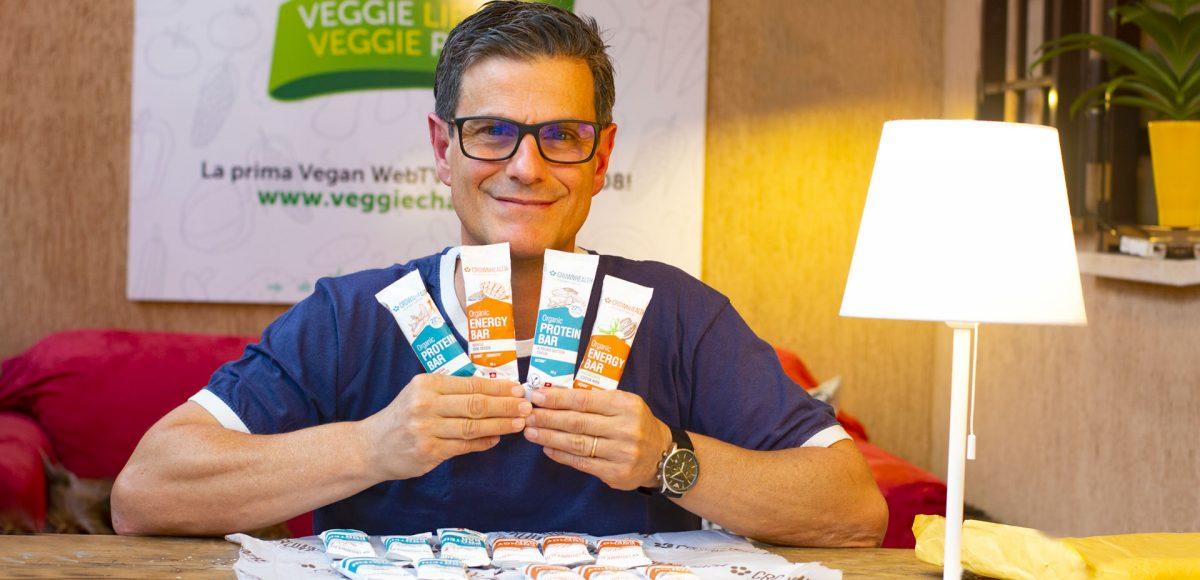 Crownhealth, barrette vegane energetiche e proteiche