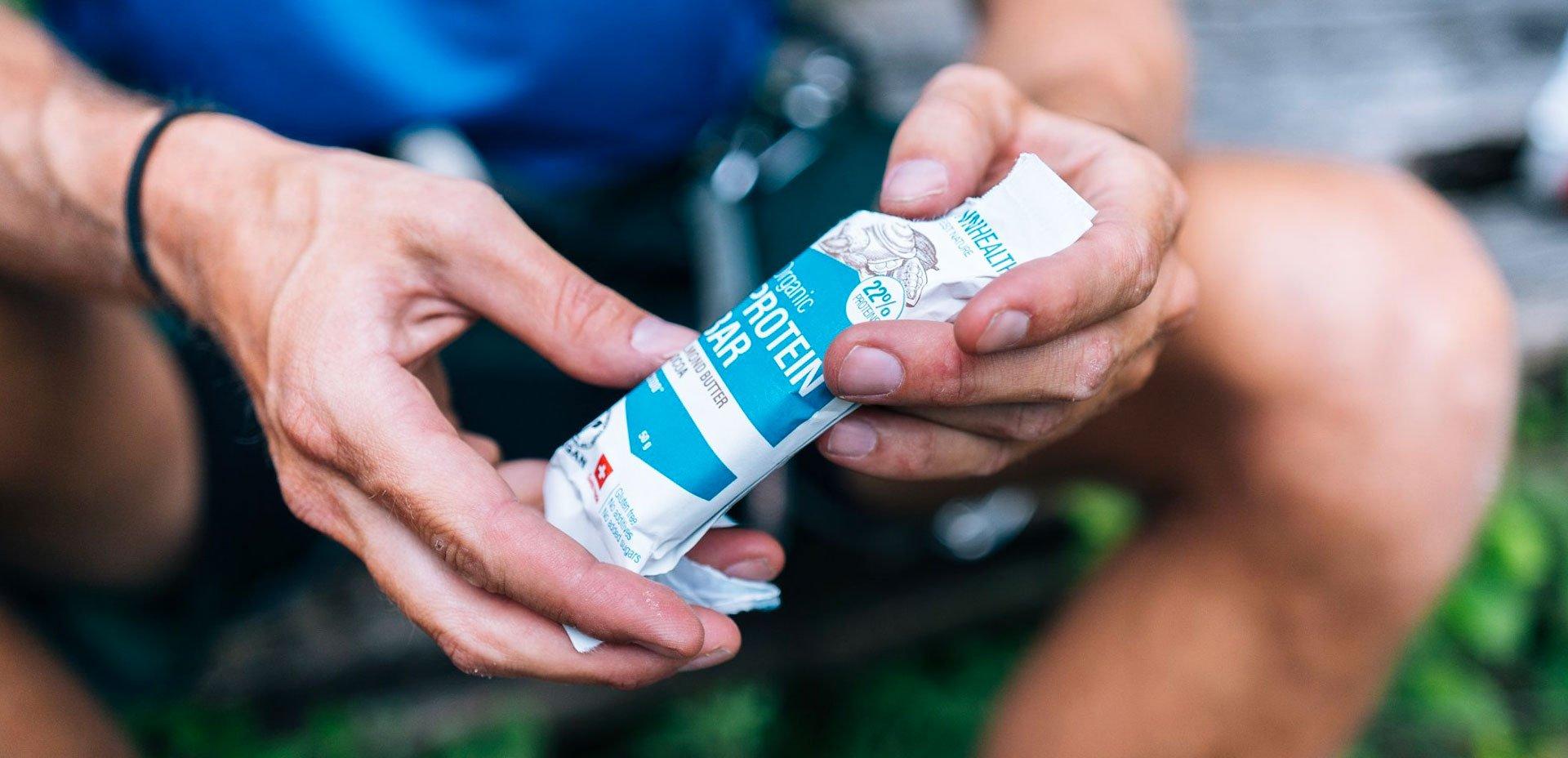 barretta proteica crown health e ciclismo