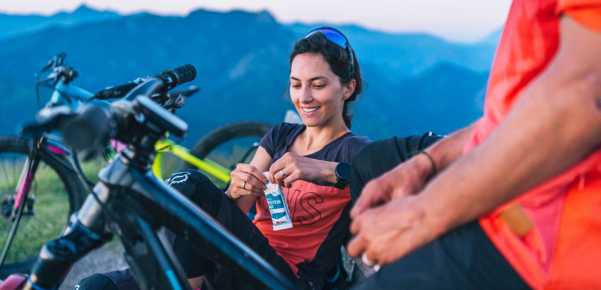 barretta proteica crownhealth e ciclismo
