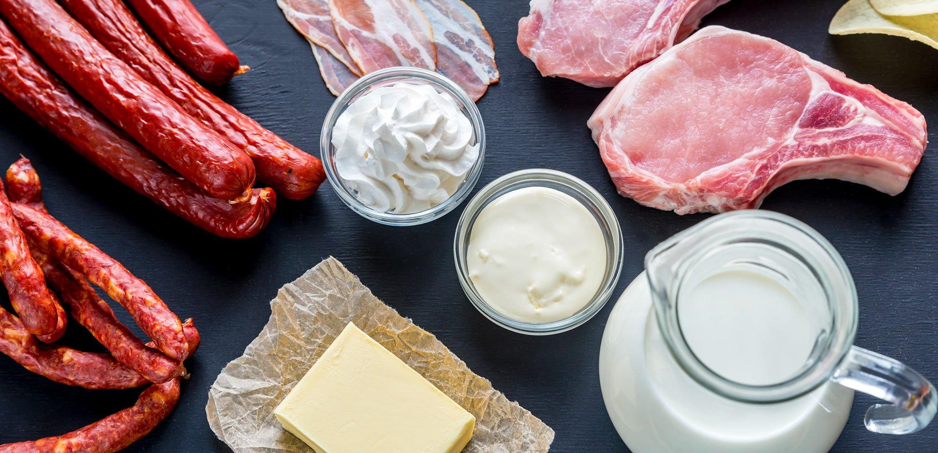 fonti di grassi saturi nelle diete chetogeniche