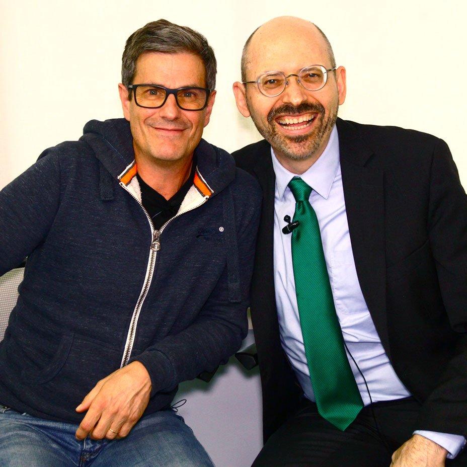 Dott. Michael Greger e Massimo Leopardi