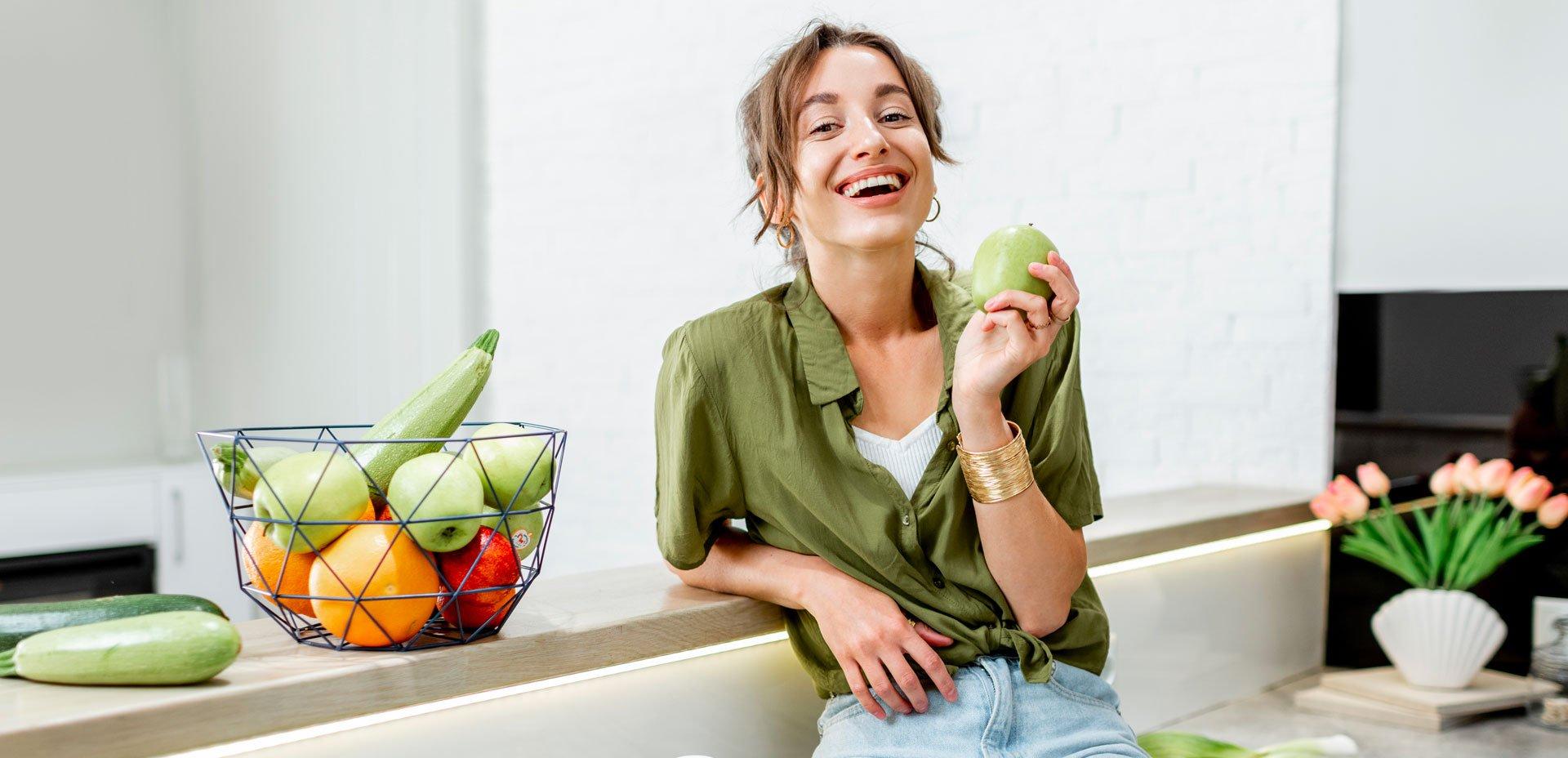 iniziare il pasto con una mela