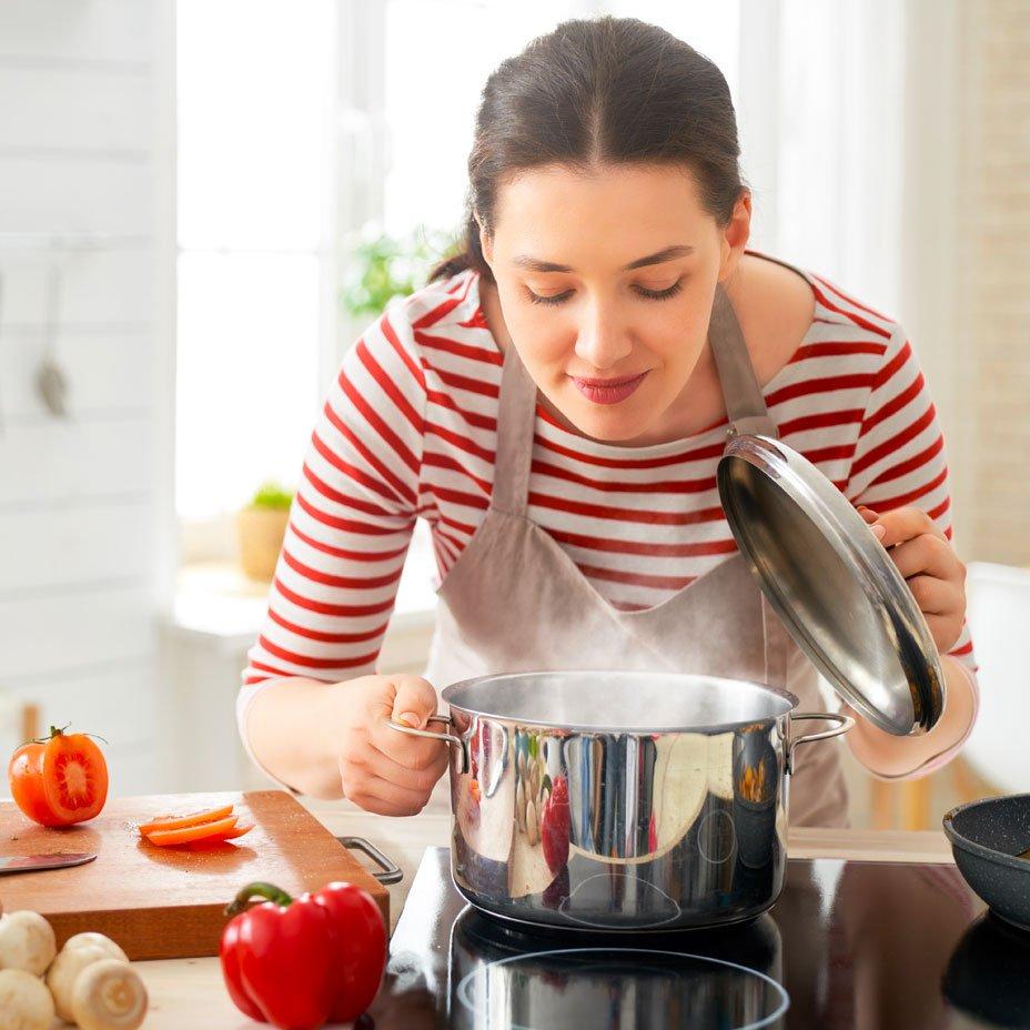 iniziare il pasto con una zuppa light