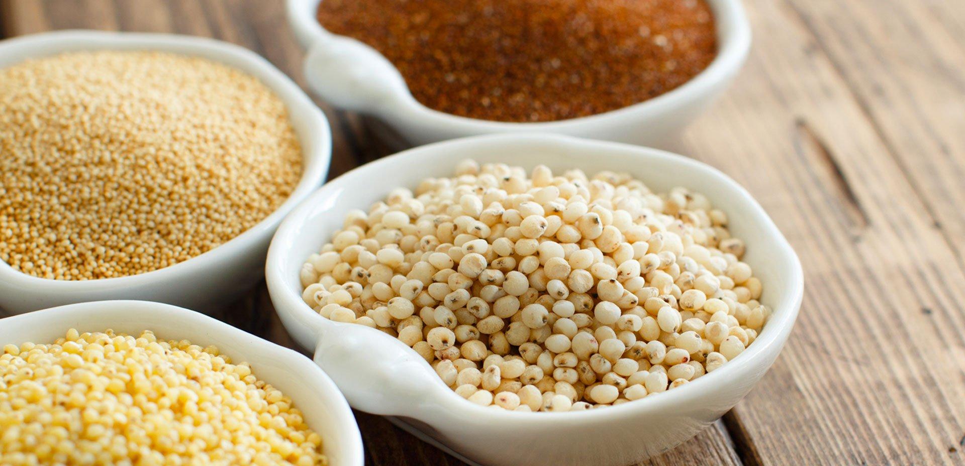 Cereali e pseudo cereali gluten free