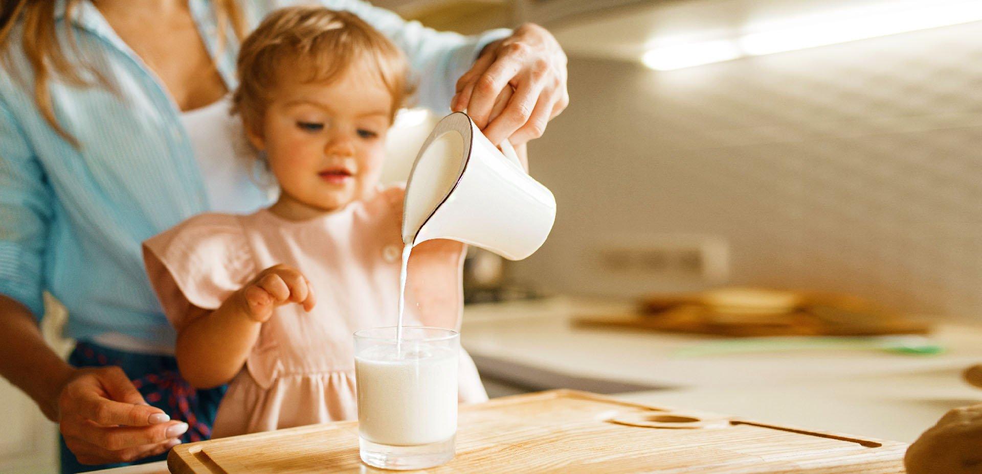 Latte vaccino e bambini