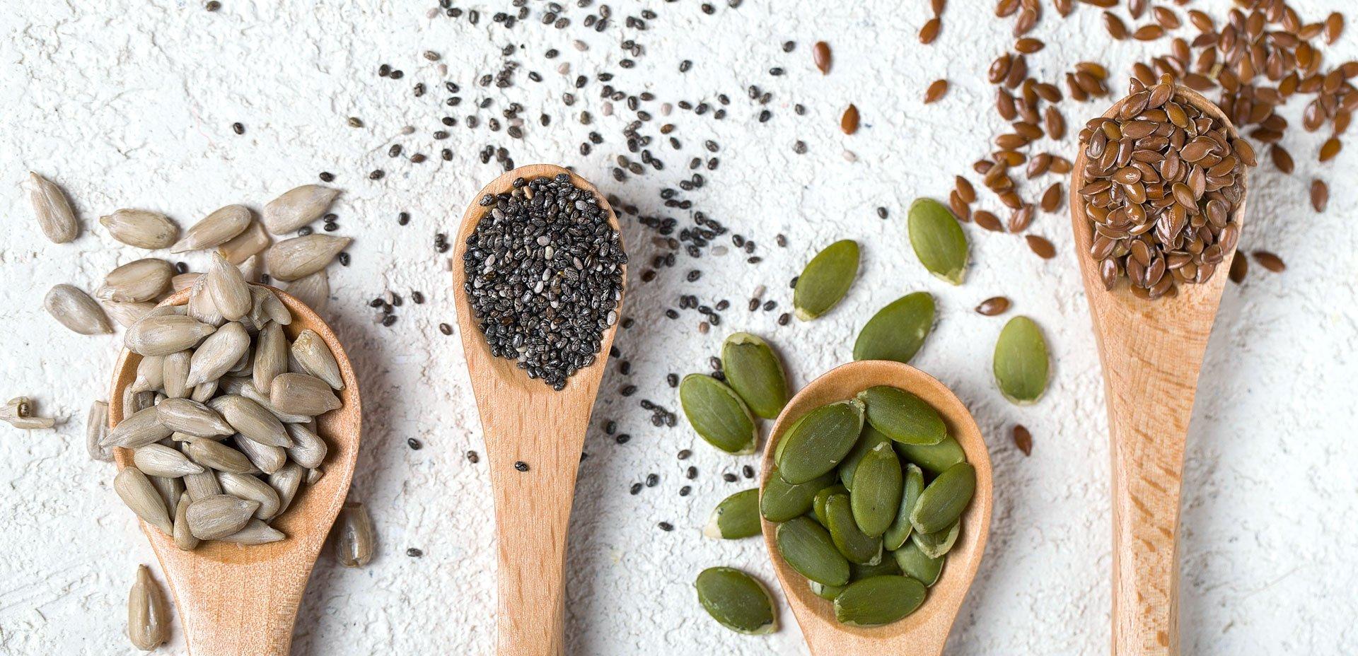 semi da tenere nella nostra dispensa