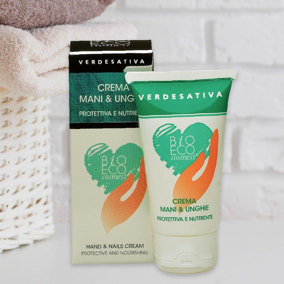 Verdesativa, crema per mani e unghie