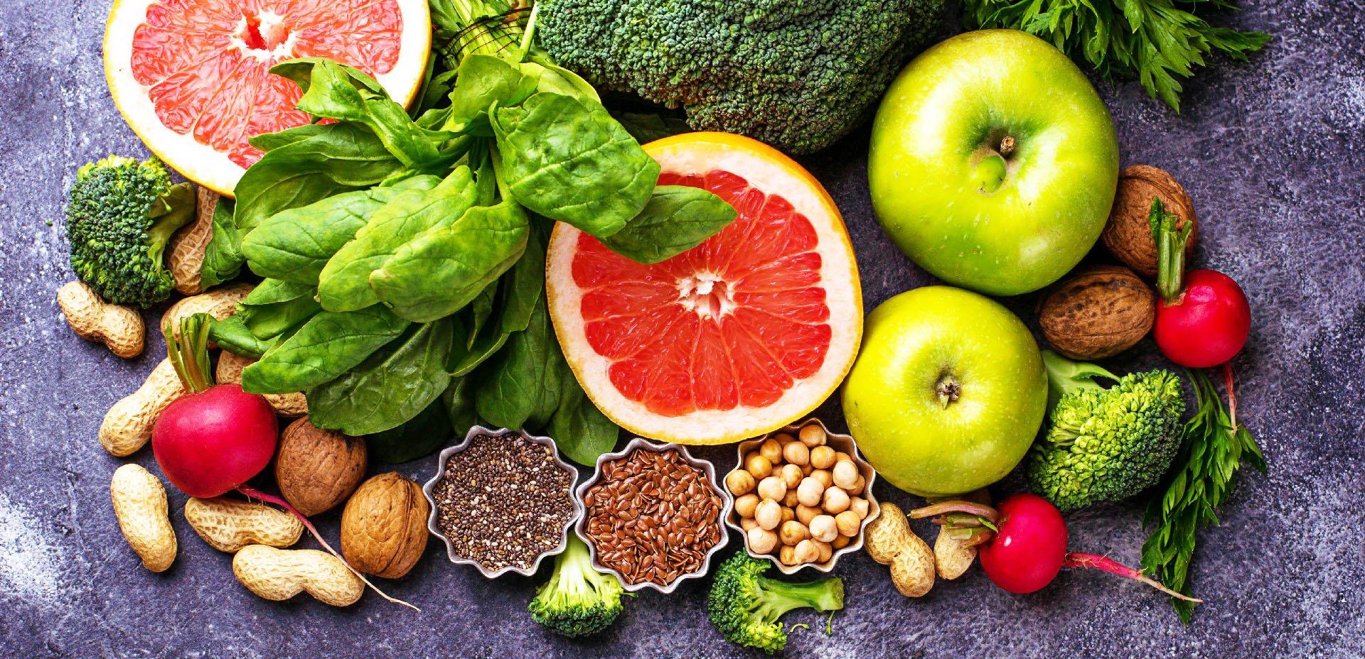 frutta, verdura, semi