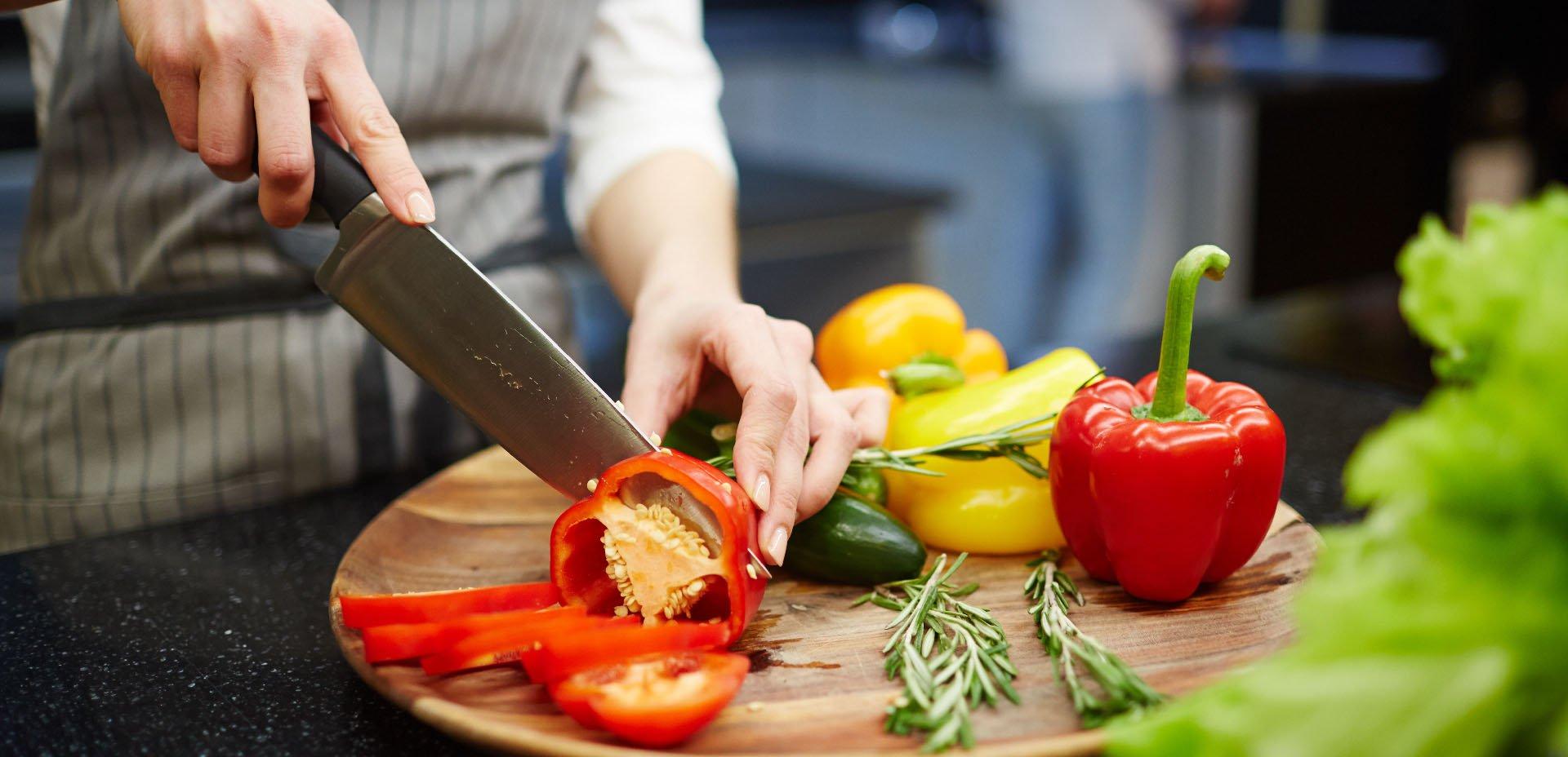 taglio di verdure