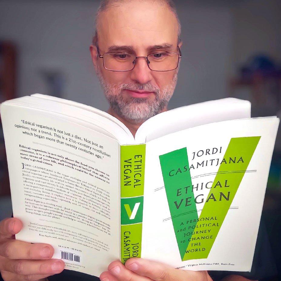 jordi casamitjana e il suo libro sul veganismo etico