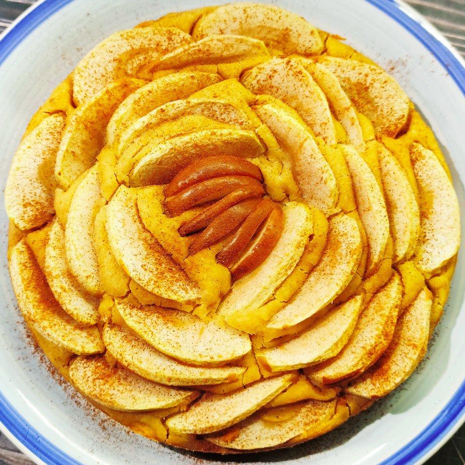 Torta di mele e cannella senza glutine