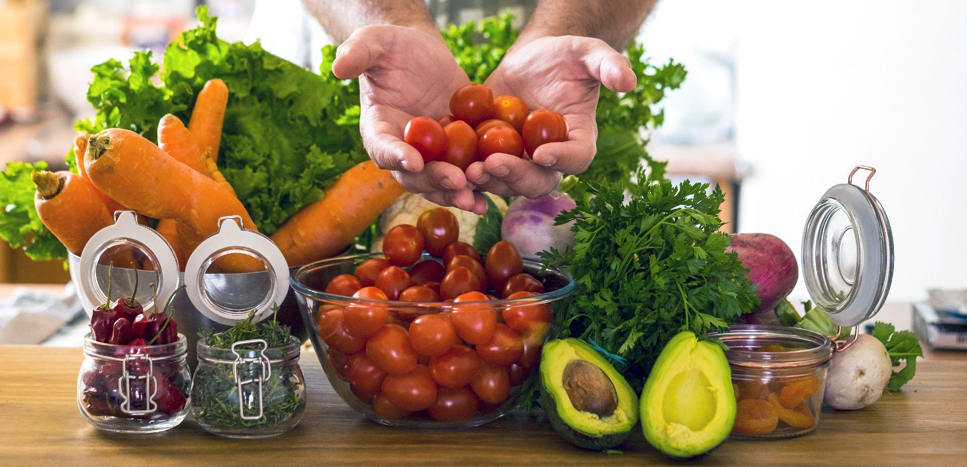verdura in cucina