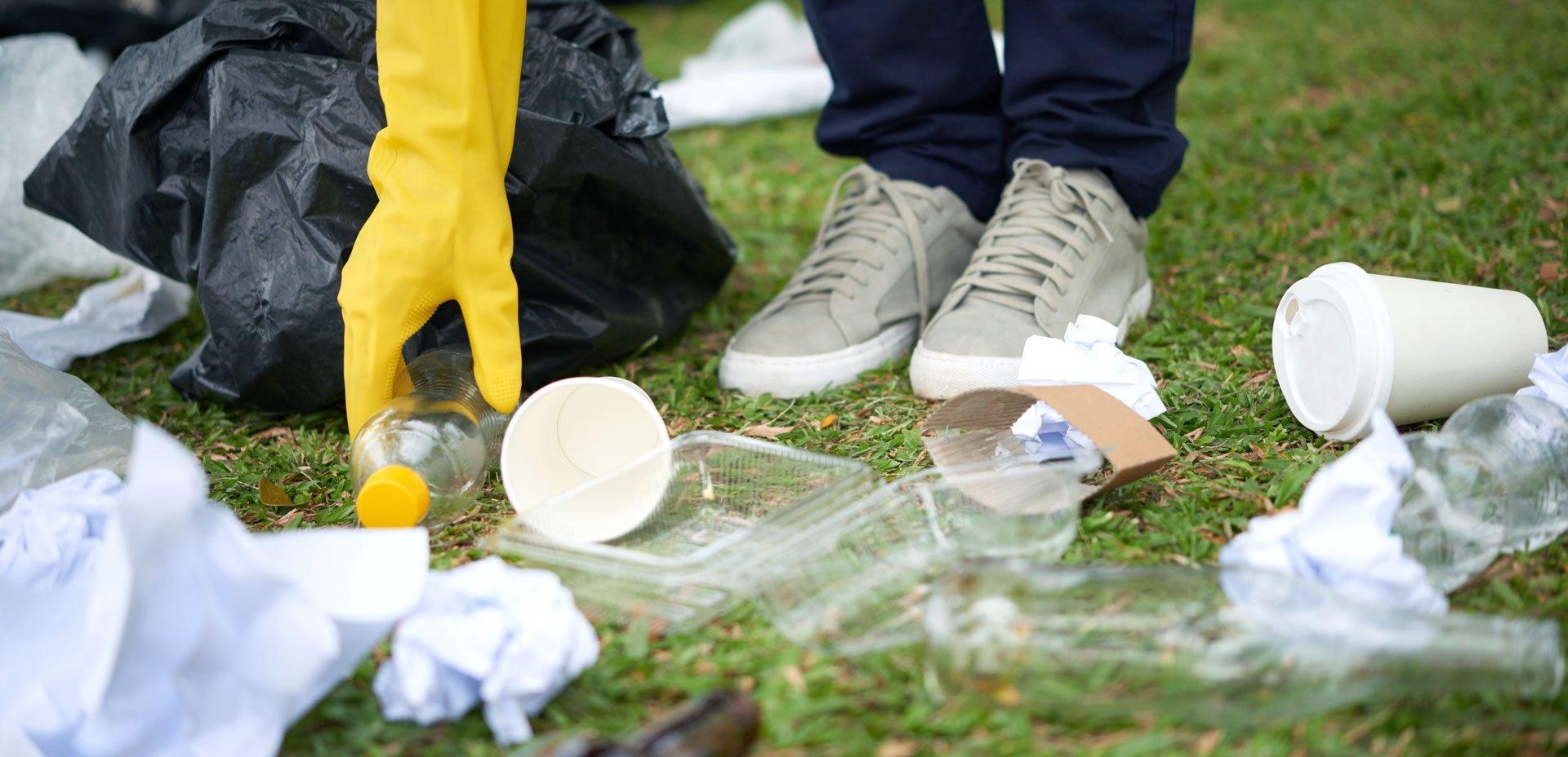 pulizie di spazi urbani
