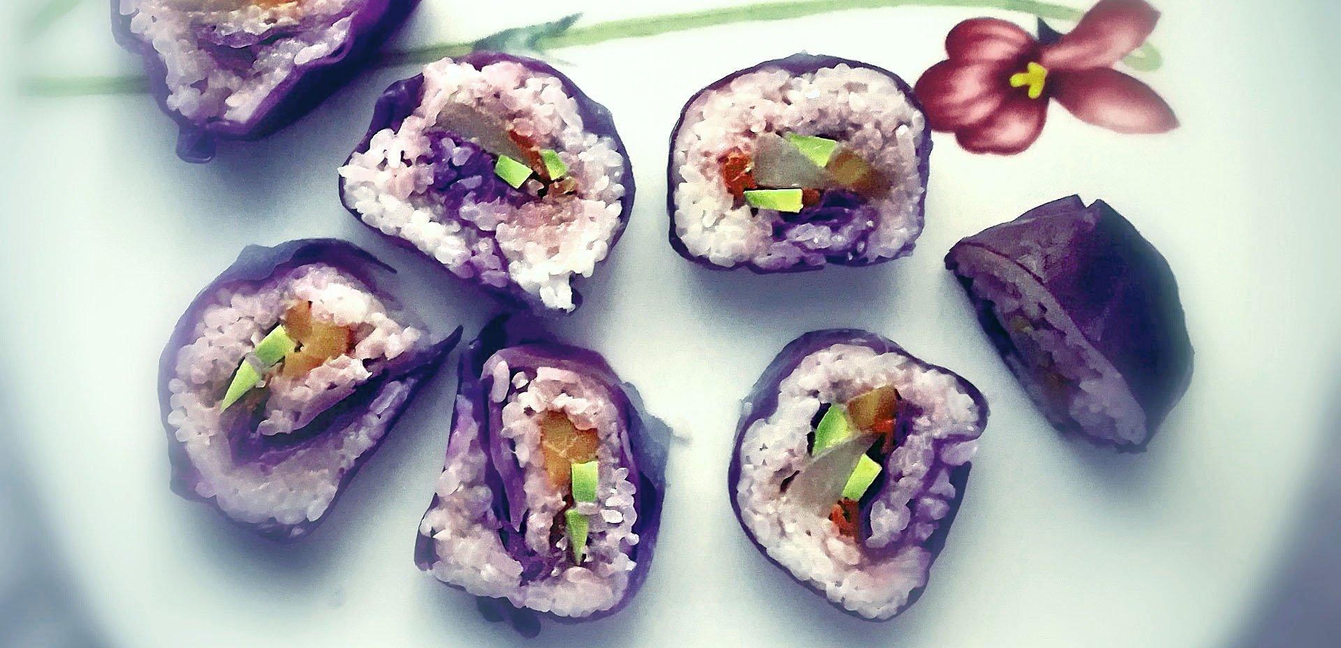 sushi colorato di Veronica Valle