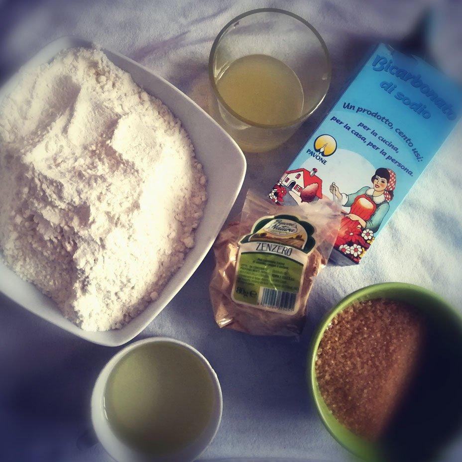 ingredienti per biscotti con kumquat