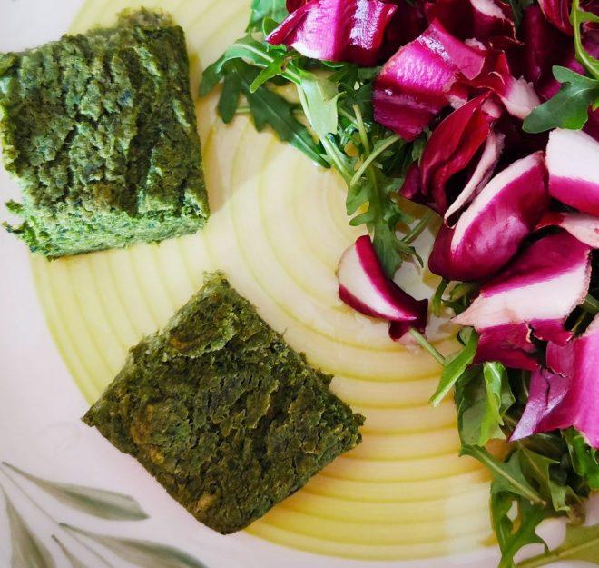 cubotti agli spinaci
