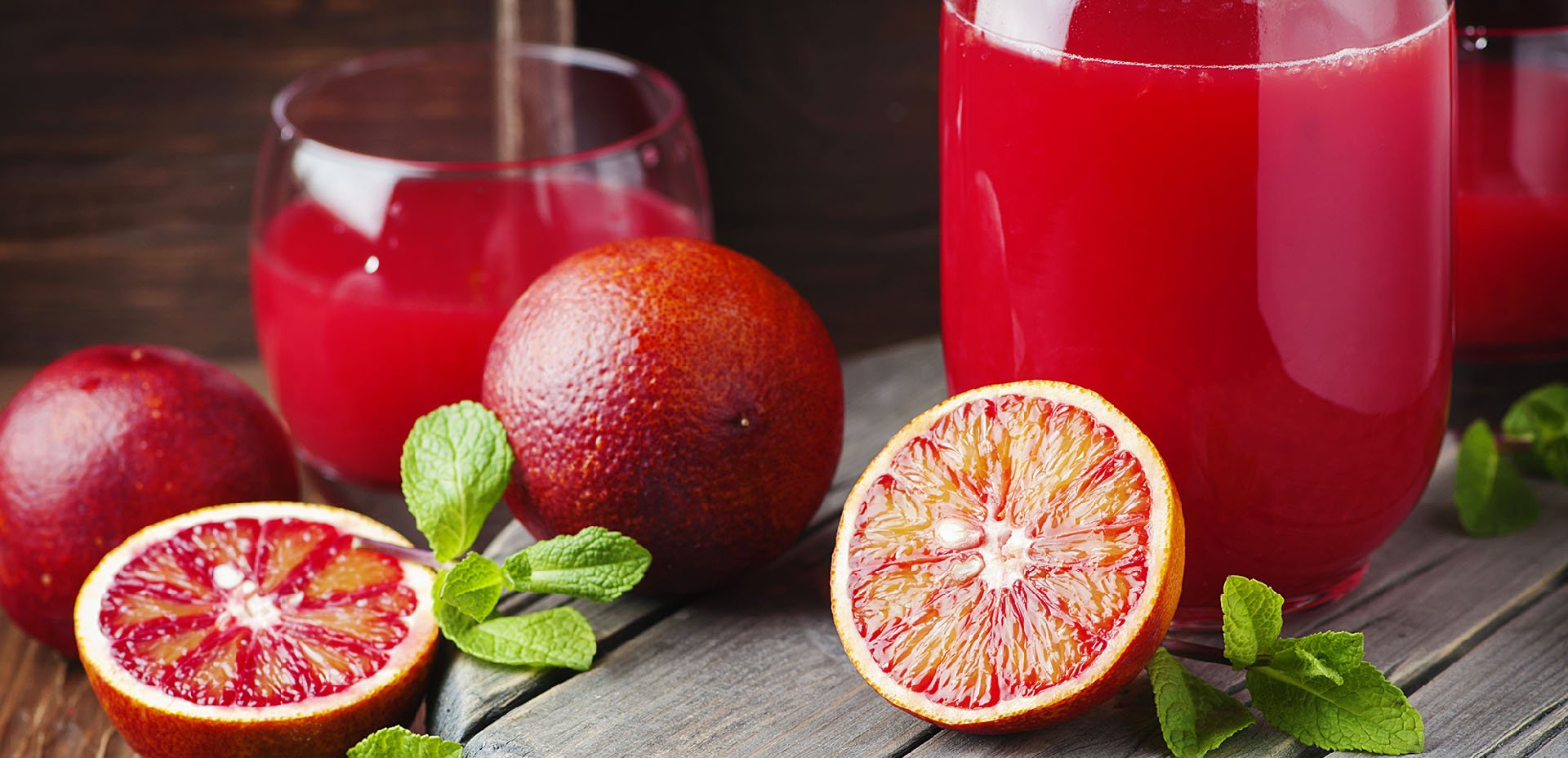 spremuta di arancia rossa