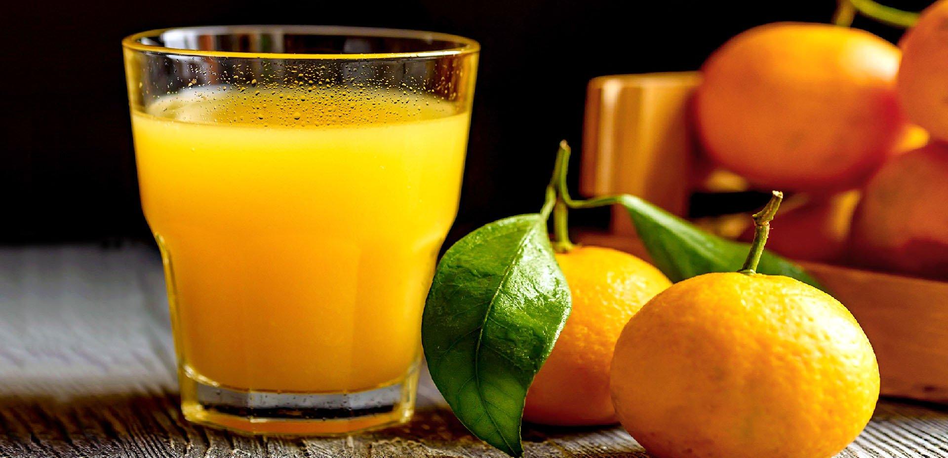 spremuta di mandarini
