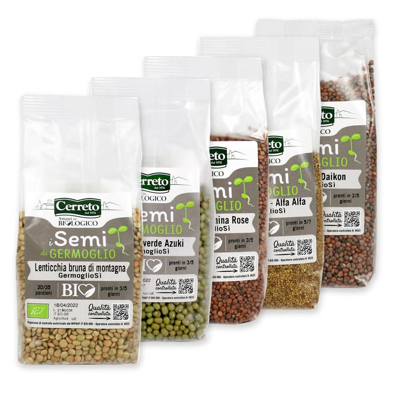 germogli GermoglioSì semi