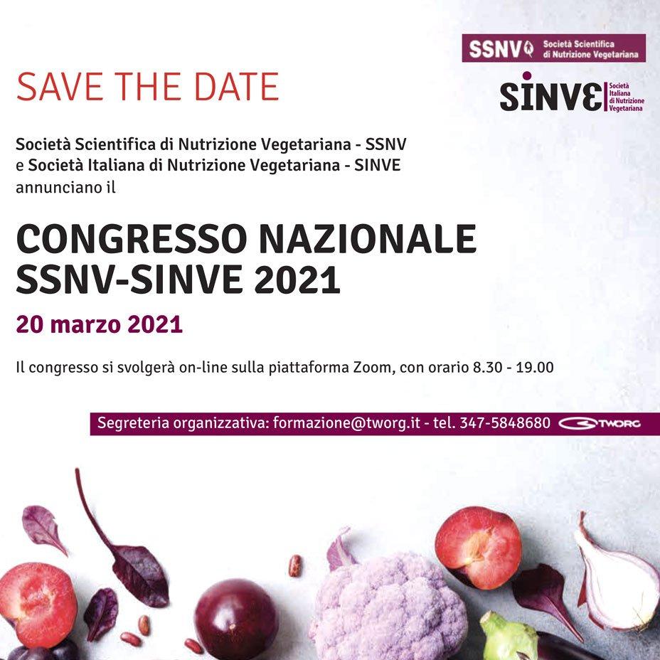 Congresso nazionale SSNV - SINVE 2021