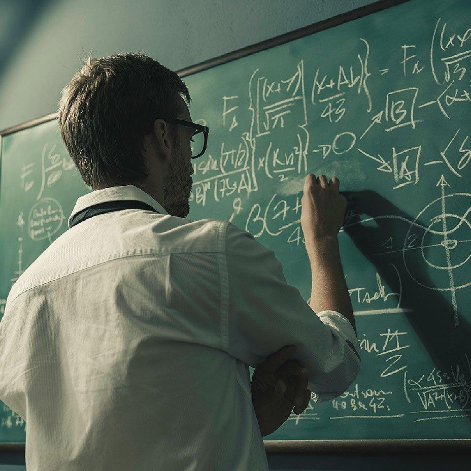 matematico nel flusso
