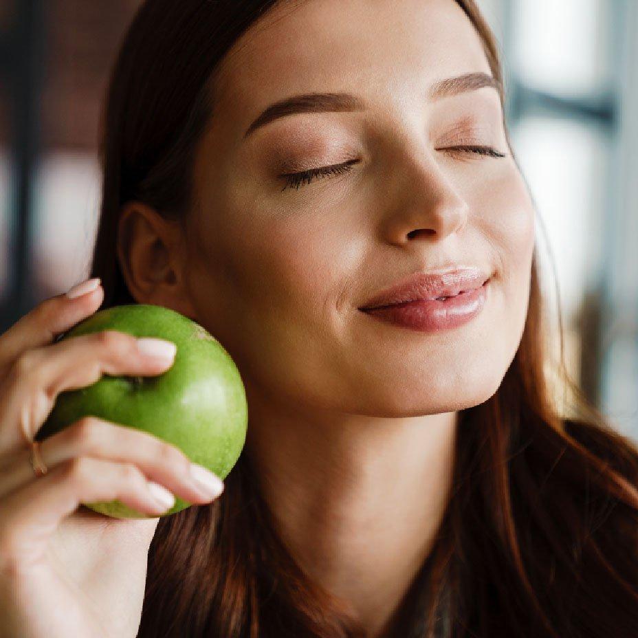 mangiare una mela