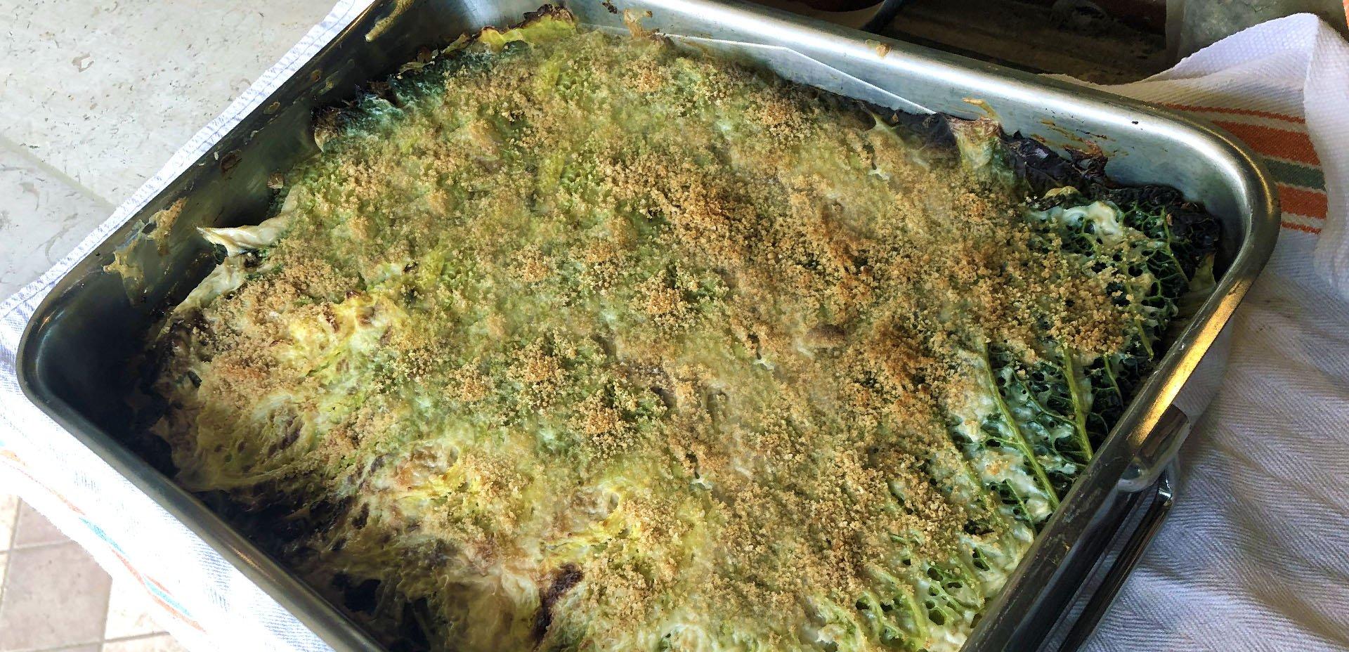 pasticcio (lasagne) di verza
