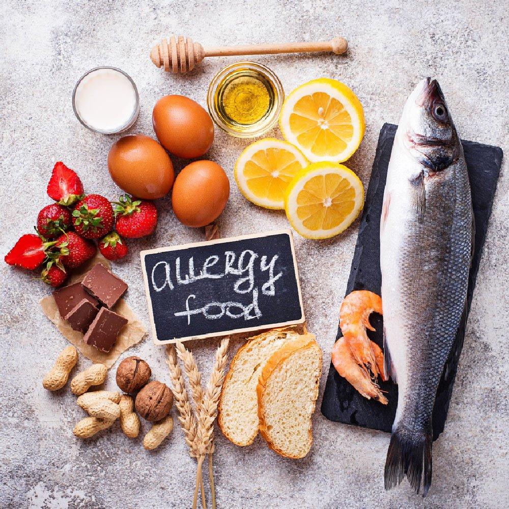 alimenti responsabili delle reazioni allergiche
