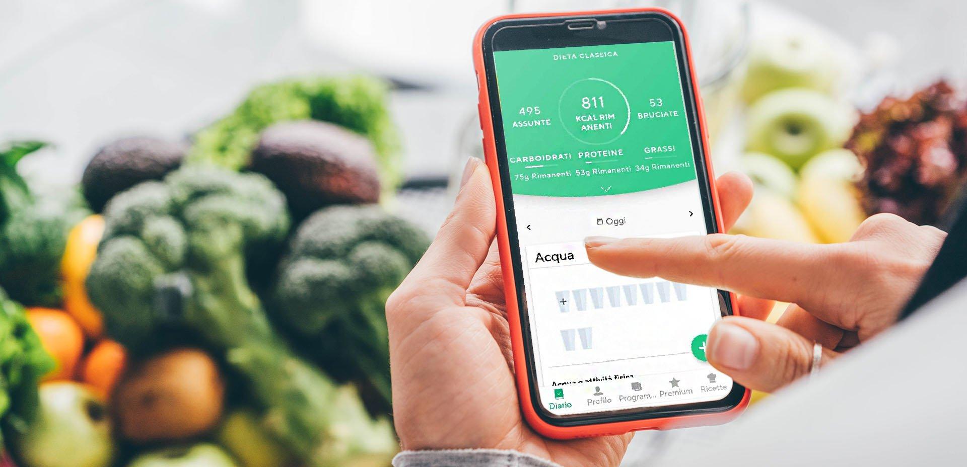 app calcolo calorie per dimagrire