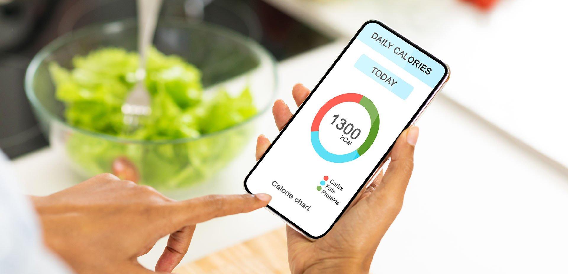 app calcolo calorie